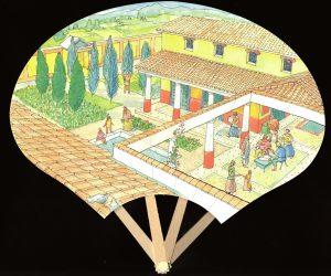 éventail villa gallo-romaine
